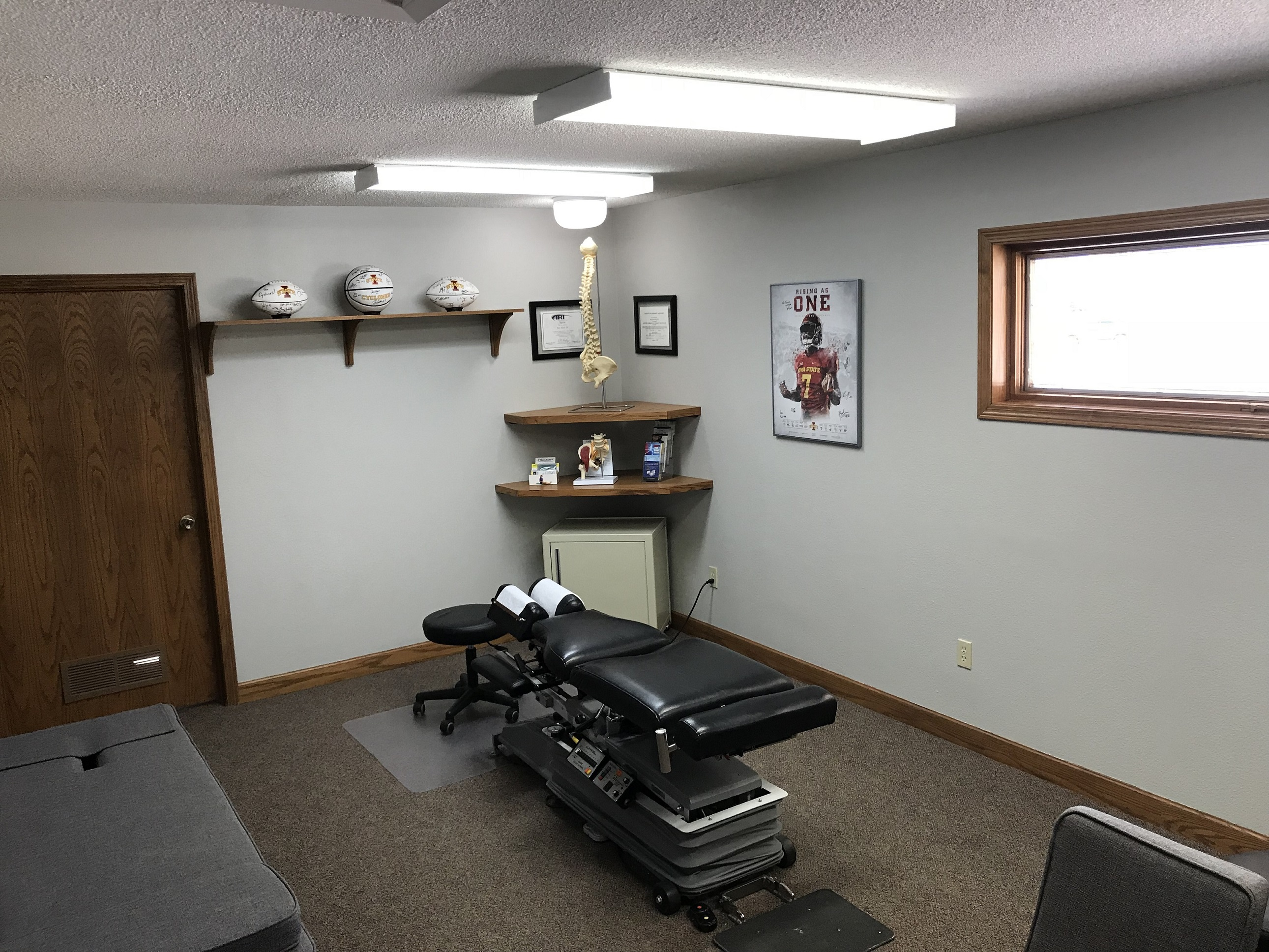 back in action chiropractic office